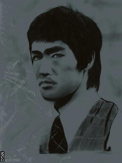 Bruce Lee by tonynguyen
